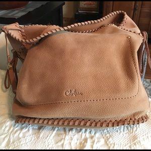 Cole Haan Suede Shoulder Bag